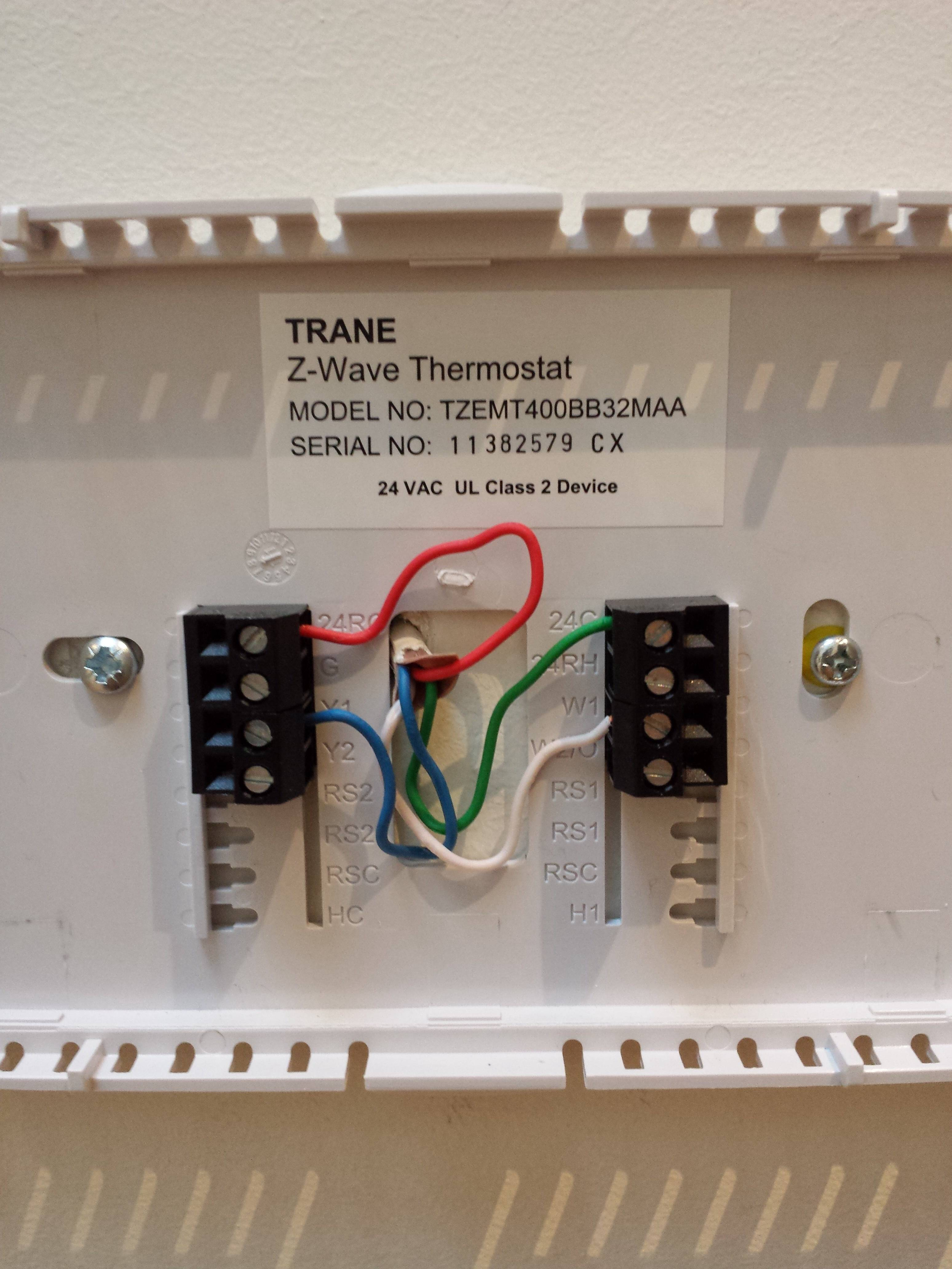 4 Wire Thermostat