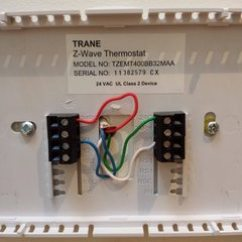 4 Wire Thermostat Wiring Diagram 2007 Ford Fusion Audio Hvac How Can I Modify A To New Trane York Furnace C