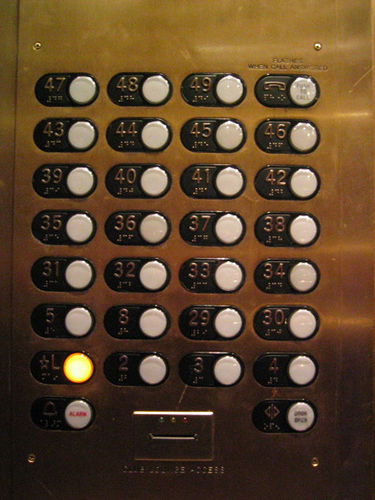 affordance  What is the reason for Concave round buttons
