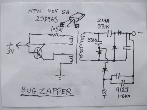 small resolution of  zapper circuit diagram stinger bug documents enter image description here