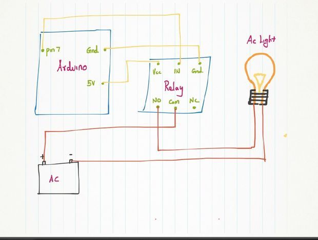 Insteon Wiring Diagram Issues In Interfacing Relay With Arduino Arduino Stack