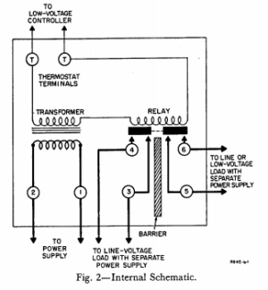 wiring  How can I connect a WIFI thermostat to a Honeywell R845A switching relay?  Home