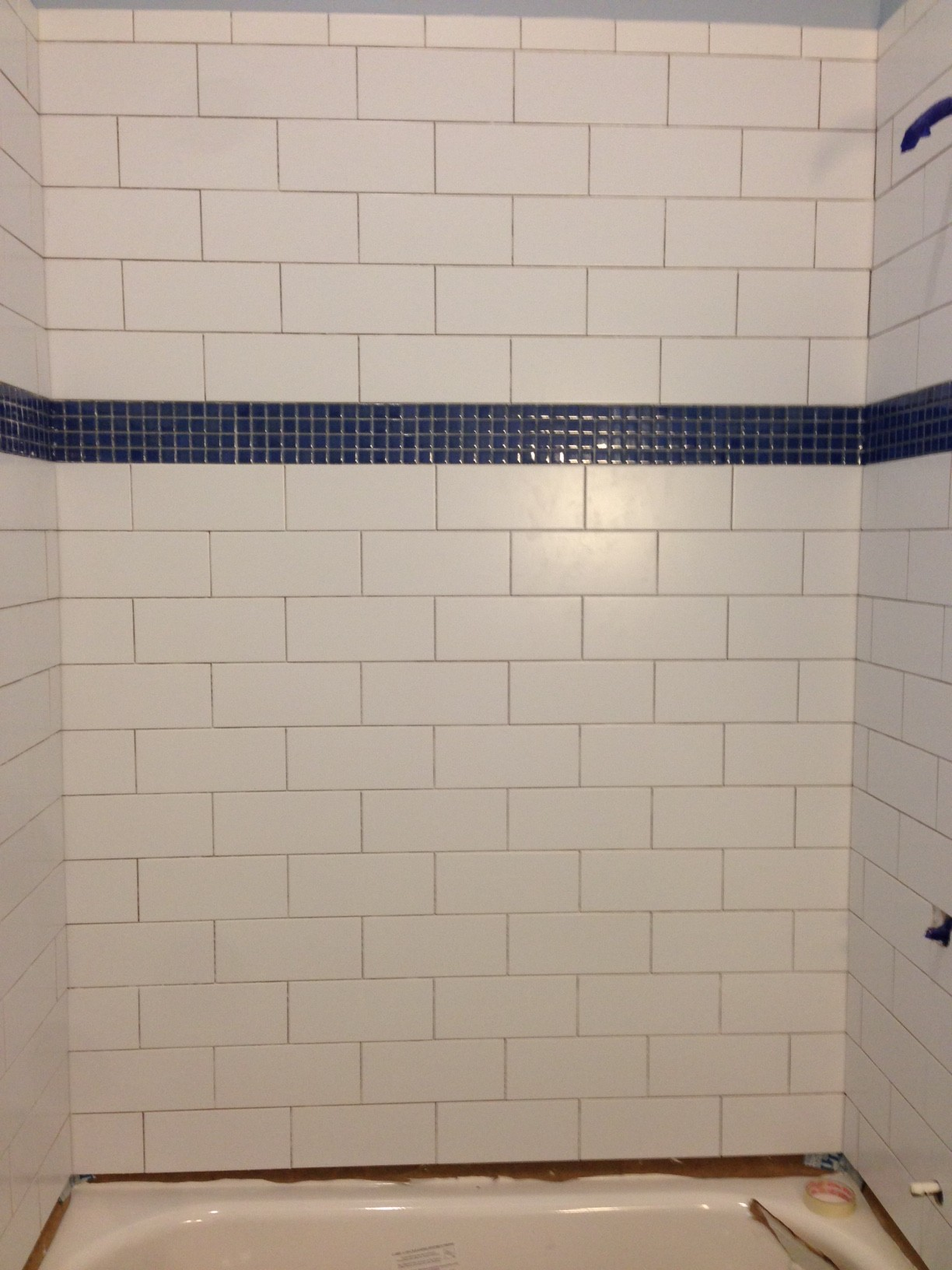 Bathroom How To Finish 1 Gap Between Tub And Tile