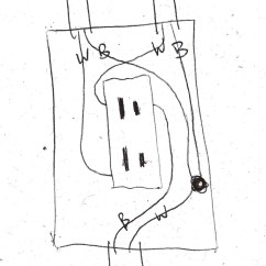 Wiring Diagram For Half Switched Outlet 2005 Ford Mustang Engine Electrical Hot Home Improvement