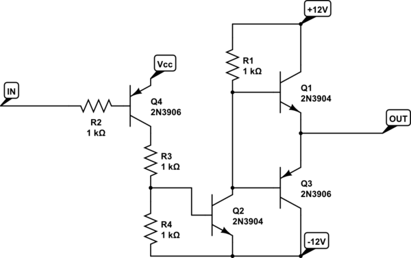 Circuit Diagram Positive Negative. how to create positive