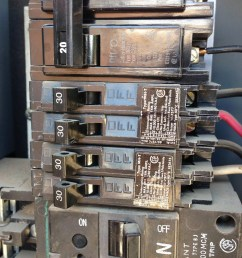 electrical using a 30 amp tandem circuit breaker for a 120 240v wiring 2 pole 240v breaker wiring 240v breaker [ 2611 x 1958 Pixel ]
