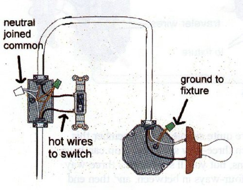 wiring diagram for light switch australia gq patrol alternator electrical is it normal to have a setup using only with at end of run