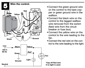 electrical  How do I know if a ceiling fan with light and
