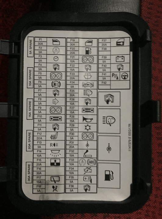 2003 mini cooper r50 dash fuse box diagram