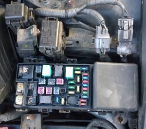Honda Accord 2005 Headlight relay location  Motor Vehicle Maintenance & Repair Stack Exchange