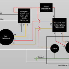 110 Volt Transformer Wiring Diagram Risk Decision Tree Controlling 110v Swamp Cooler Using Nest