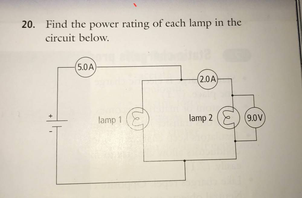 medium resolution of how do i find the power rating of the following circuit diagram electrical engineering stack exchange