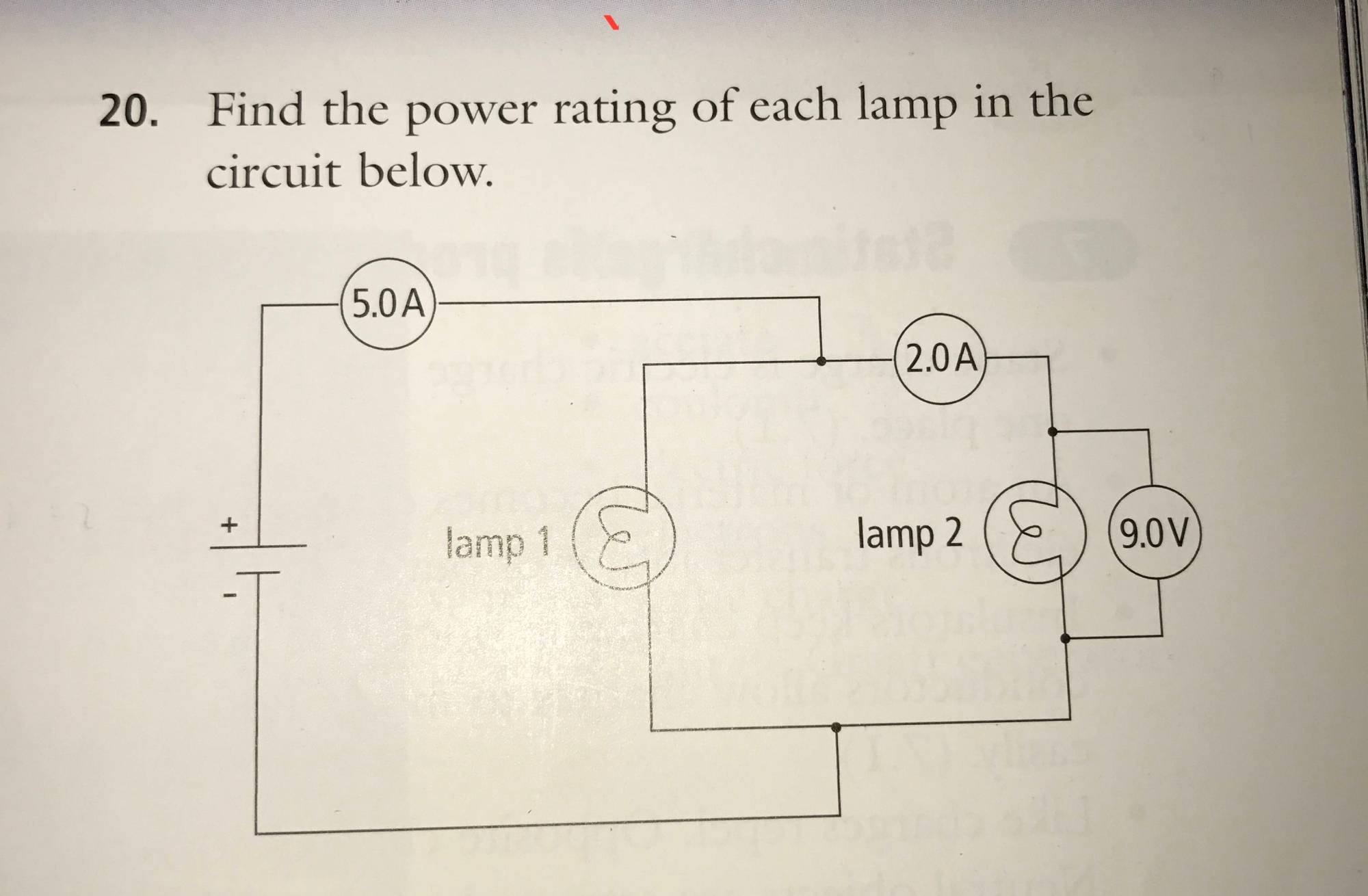 hight resolution of how do i find the power rating of the following circuit diagram electrical engineering stack exchange