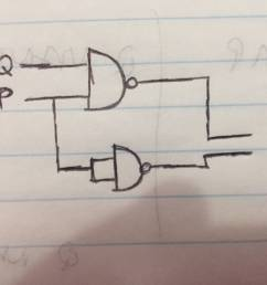 making a logic circuit with only nand gates electrical circuit using nand gates only logic diagram using nand gates only [ 3264 x 2448 Pixel ]