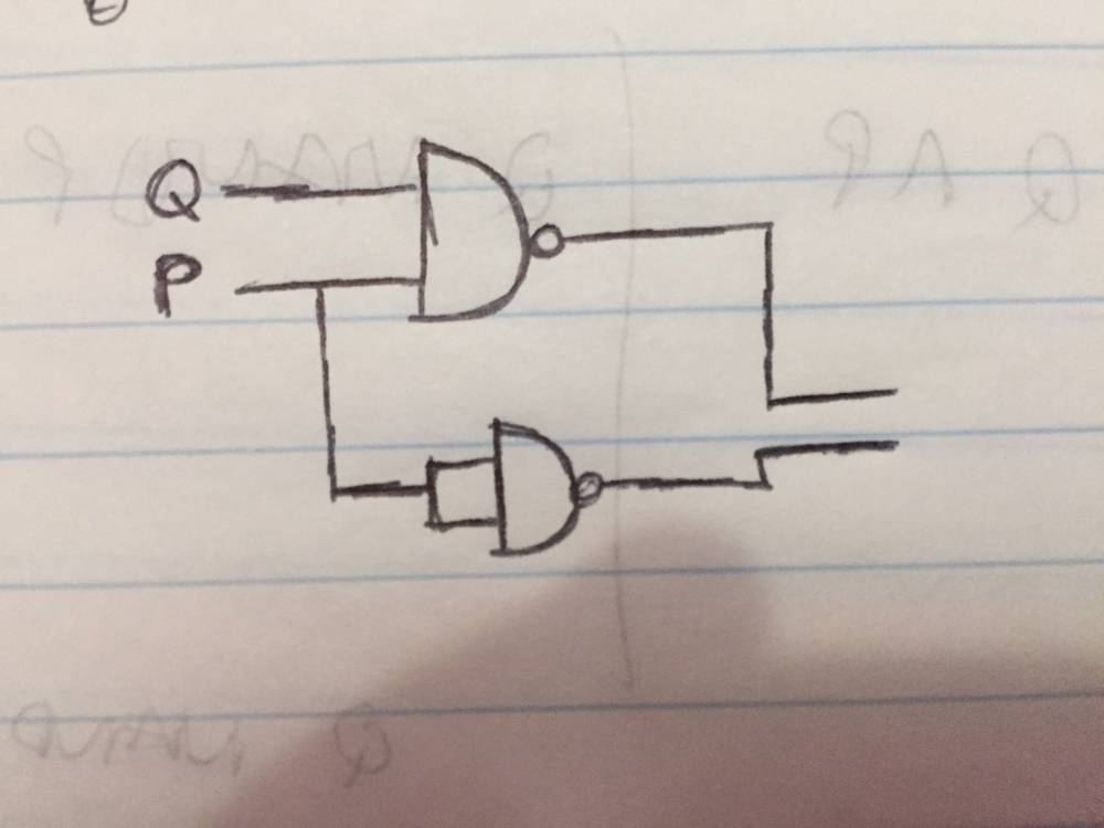 medium resolution of making a logic circuit with only nand gates electrical circuit using nand gates only logic diagram using nand gates only