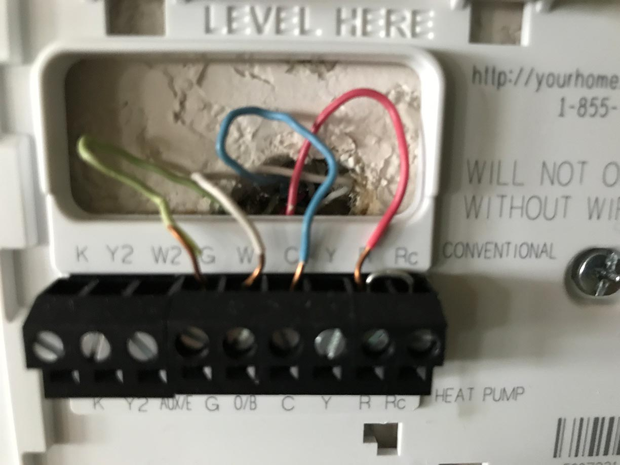 hight resolution of thermostat side
