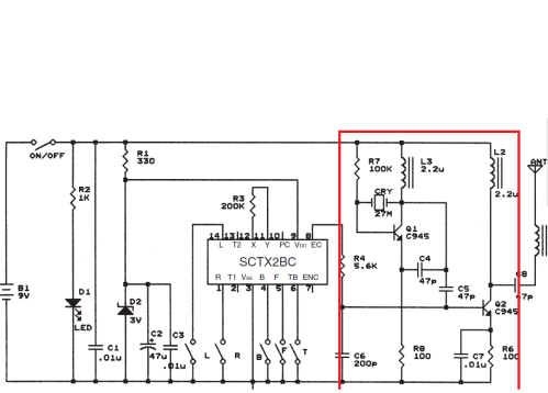 small resolution of 27mhz transmitter wiring diagram 32 wiring diagram fm transmitter circuit diagram integrated circuit fm transmitter