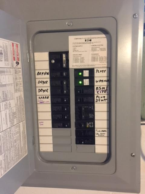 A Main Breaker Panel Wiring Electrical Detached Garage Additional Wiring Home