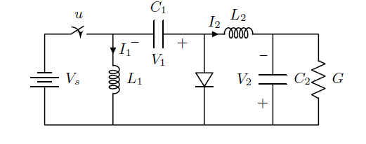 Circuit diagram with tikz