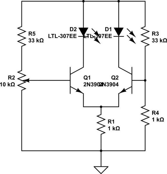 to index up down fading led 2 the circuit fades