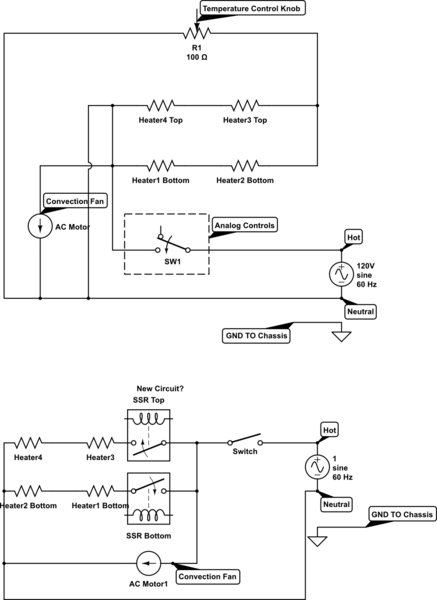 Wiring Diagram Ac And Electric Heat Central Air Conditioner Wiring