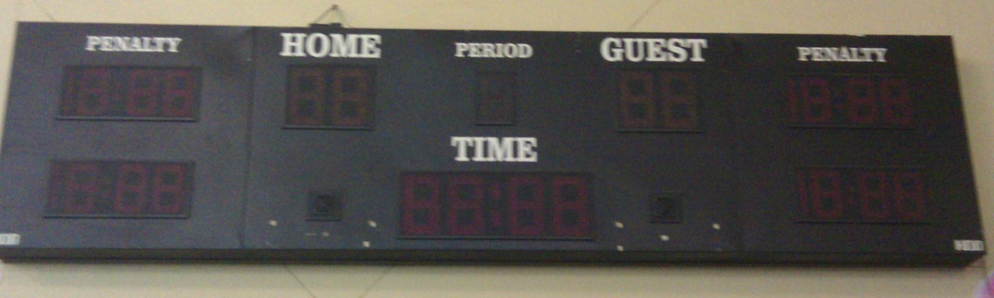 hight resolution of photo of scoreboard