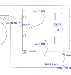 how to wire a light switch and gfci outlet schema wiring diagram gfci receptacle with a [ 1113 x 786 Pixel ]