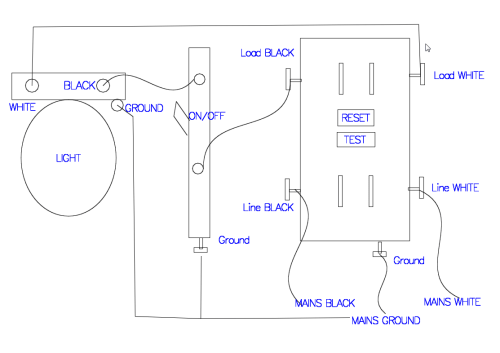 small resolution of how to wire a light switch and gfci outlet schema wiring diagram gfci receptacle with a