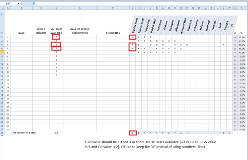 small resolution of screenshot of spredsheet