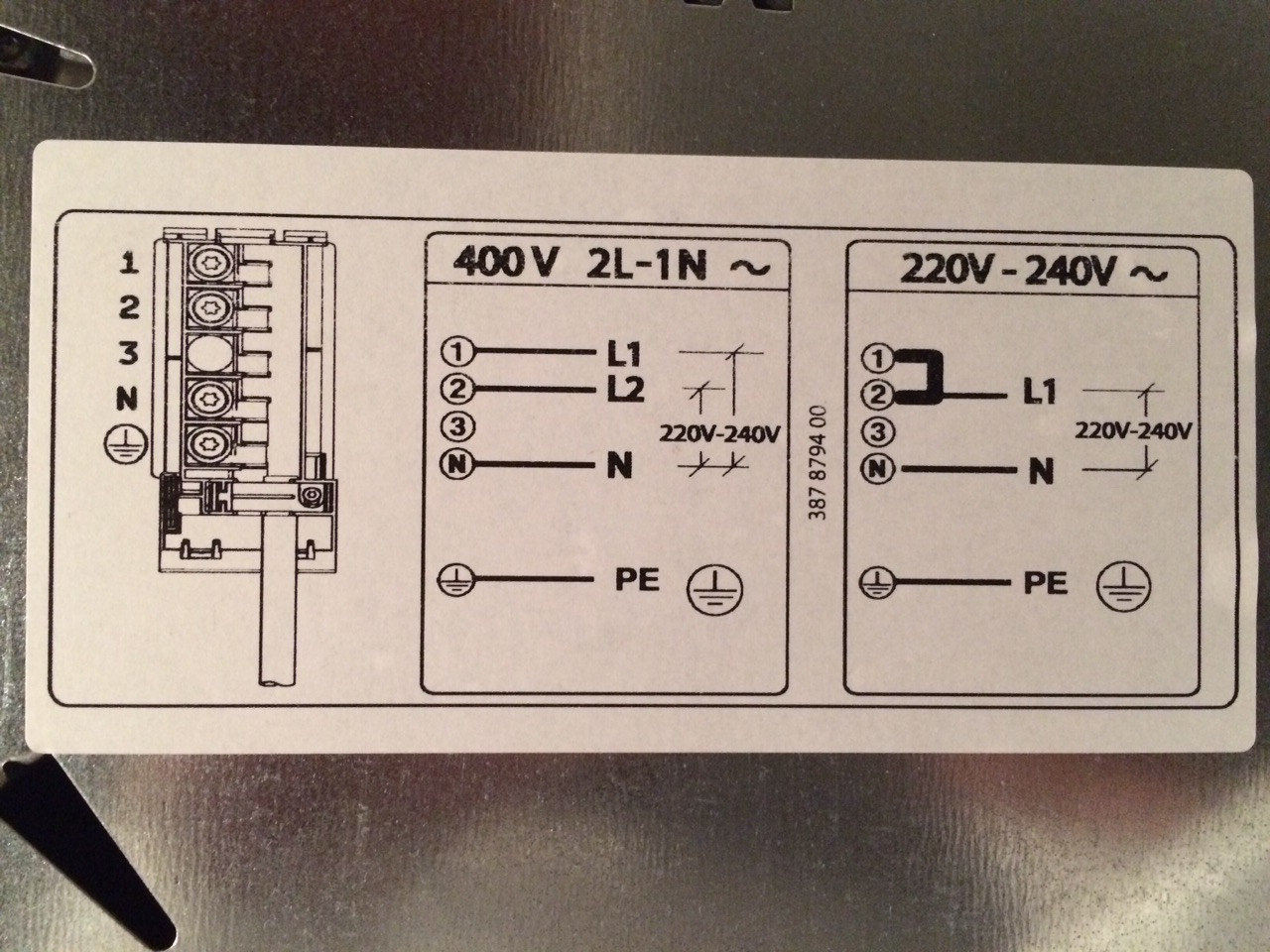 2 wire stove plug wiring diagram 1972 nova harness how to connect my electric ikea cooking plate
