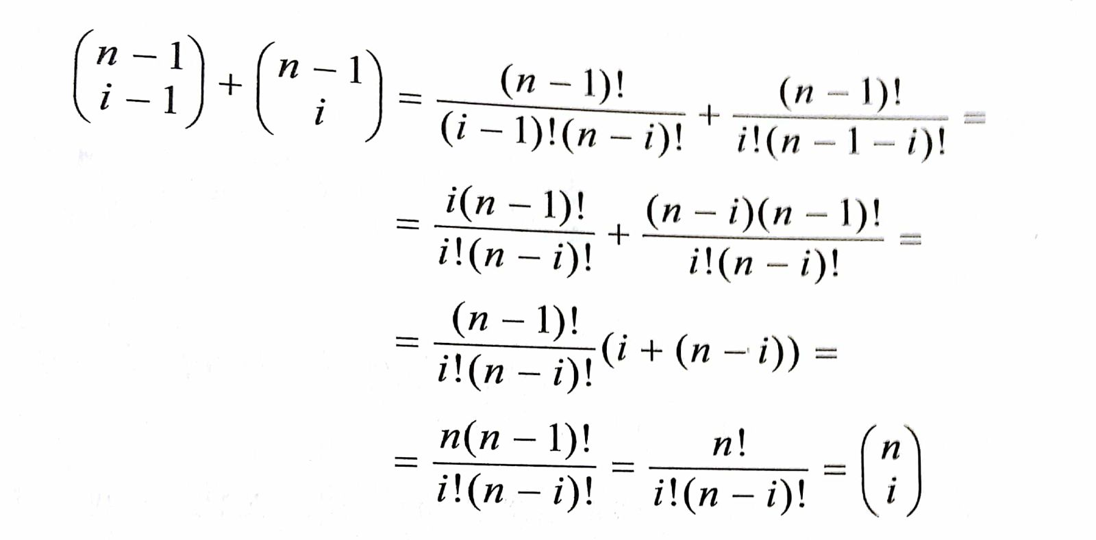 Identity With Factorials And Fractions
