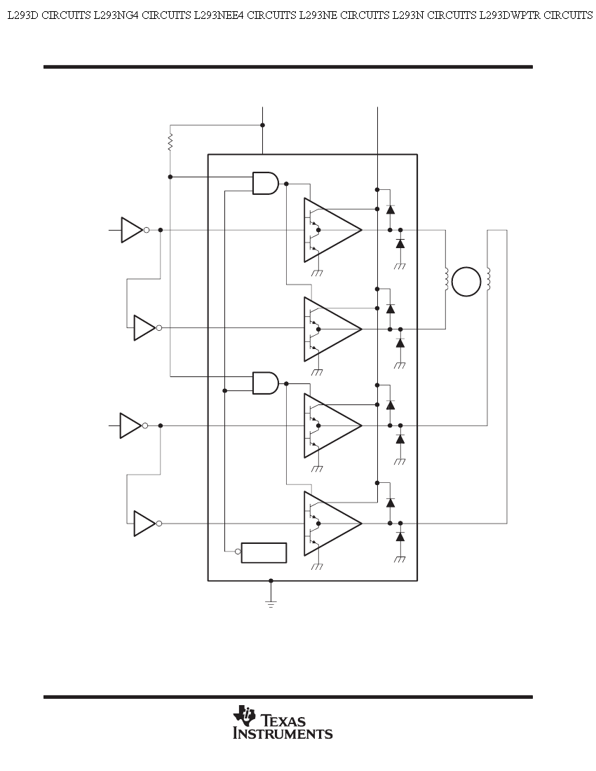hight resolution of components within a triangle in an electronics diagram
