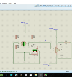 2 wire rtd pt100 in a wheatstone bridge using ad620 [ 1366 x 768 Pixel ]