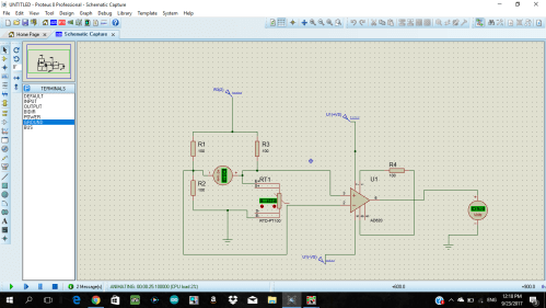 small resolution of 2 wire rtd pt100 in a wheatstone bridge using ad620