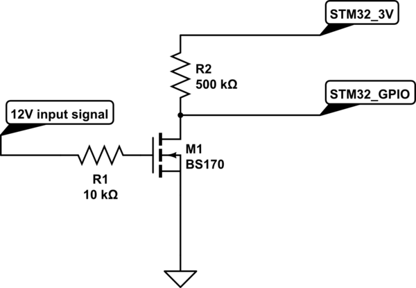 How did this simple nmos level shifter break my STM32