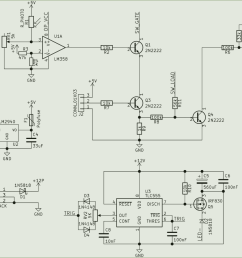 circuit comprising a 5v voltage regulator comparator with photo resistor an and gate combining [ 1146 x 906 Pixel ]