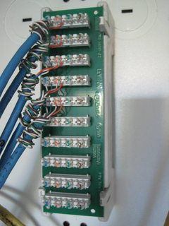 wiring  How to use work patch panel in new house  Home Improvement Stack Exchange