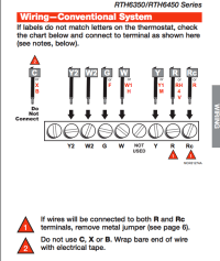hvac - Zoned oil furnace and AC thermostat question - Home ...