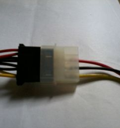 6 to 4 pin power adapter red wire connected on black wire super enter [ 1280 x 960 Pixel ]