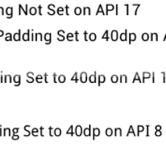Delphi Radiogroup Add Point Standard Stratocaster Wiring Diagram Margin Between A Radiobutton And Its Label In Android Stack Combine Screen Shots Showing Left Padding Differences Api Versions