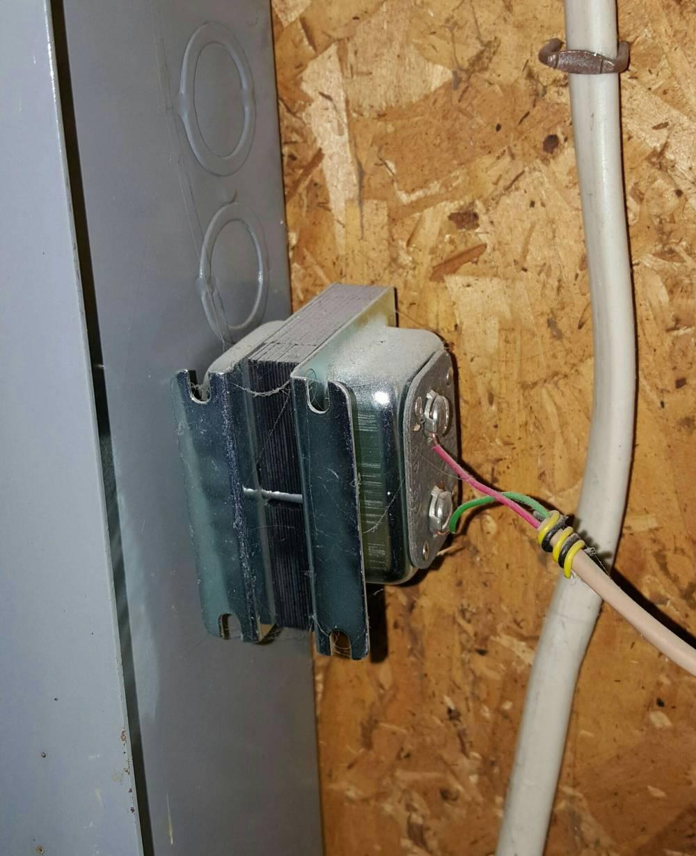 medium resolution of fuse box doorbell wiring diagrams bib can a doorbell transformer sit loose inside main panel