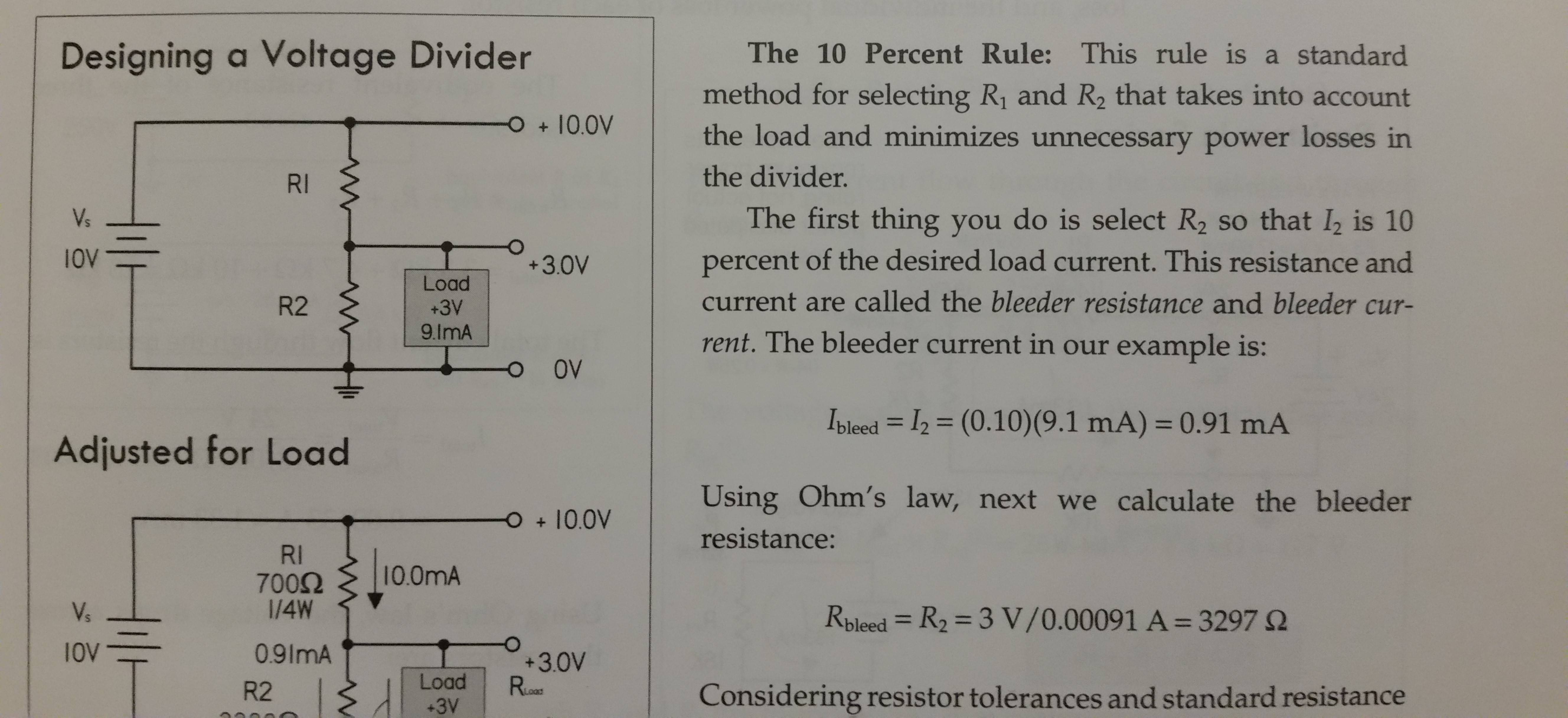 Why Use A Ten Percent Rule Of Thumb For A Bleeder Current On
