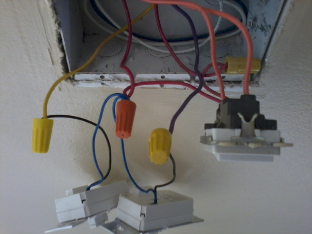 medium resolution of wiring of 3 light switches in my box
