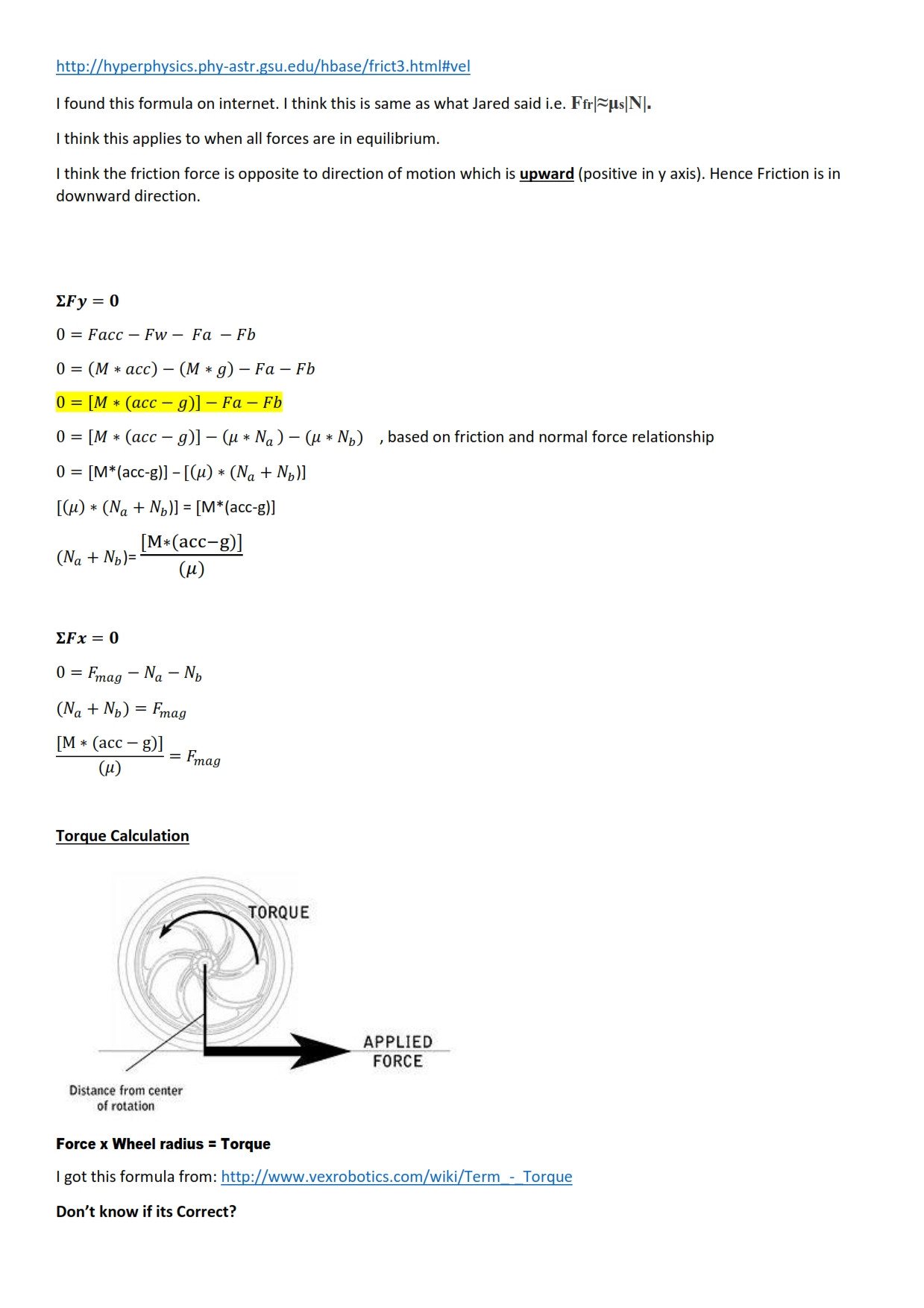 force vector diagram calculations water pump motor wiring power free body for object on vertical wall applied