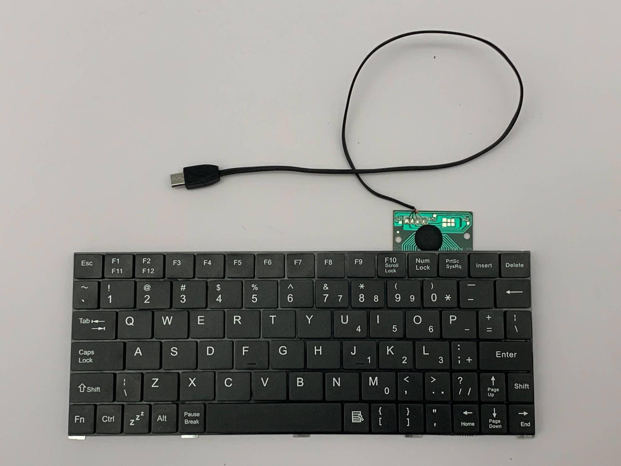 hight resolution of keyboard board