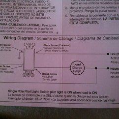 How To Wire A Single Pole Switch Diagram Kicker Cx1200 1 Wiring Electrical Do I Install W Pilot Light