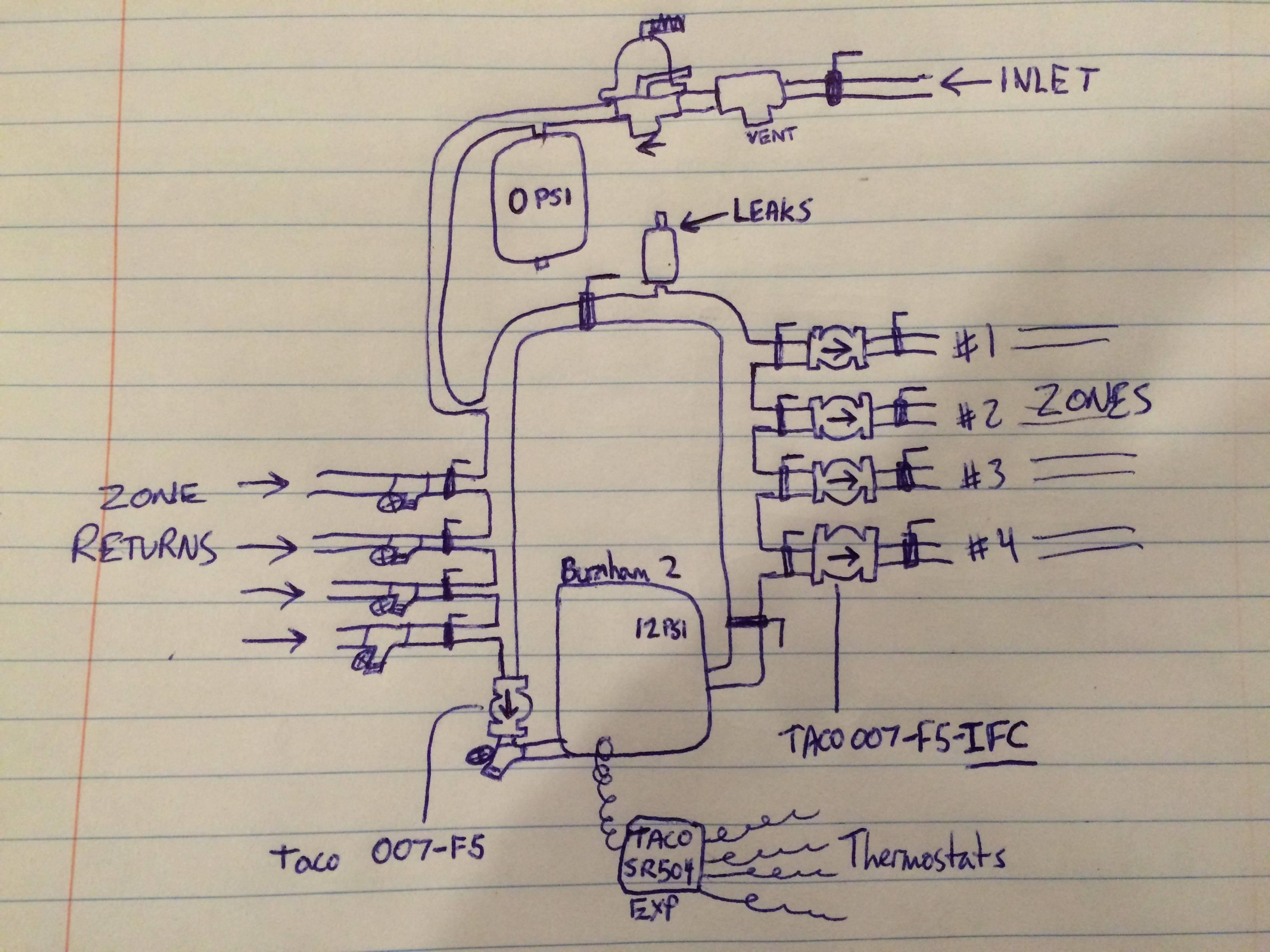 Wiring Diagram Zone Valves Boiler