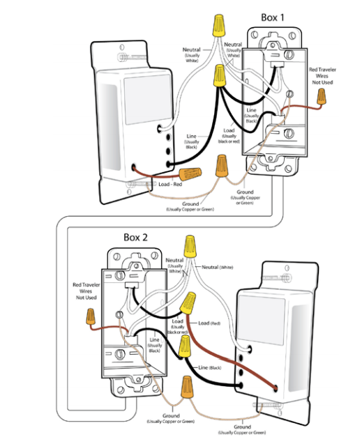 replacing old switch with 2 red wires  home improvement