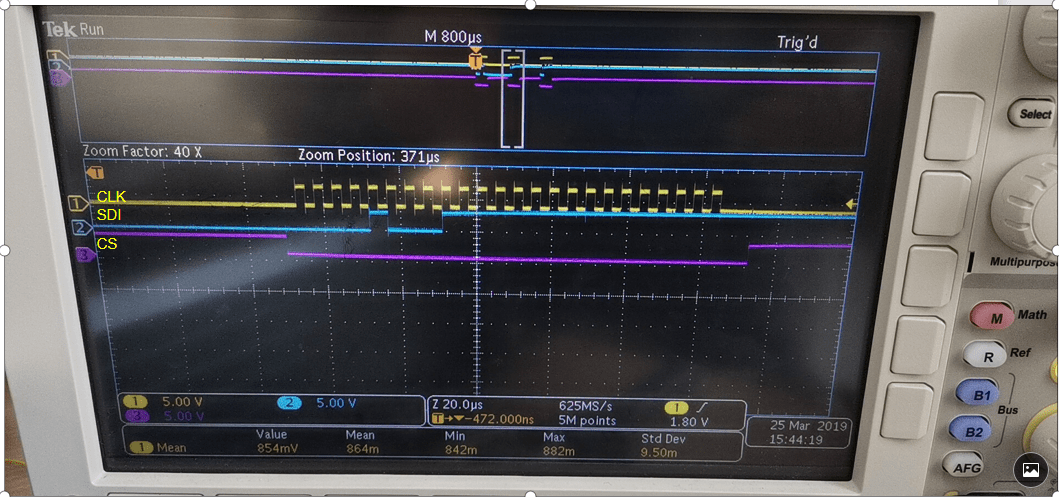 Spi And Adc Timing Diagram Electrical Engineering Stack Exchange