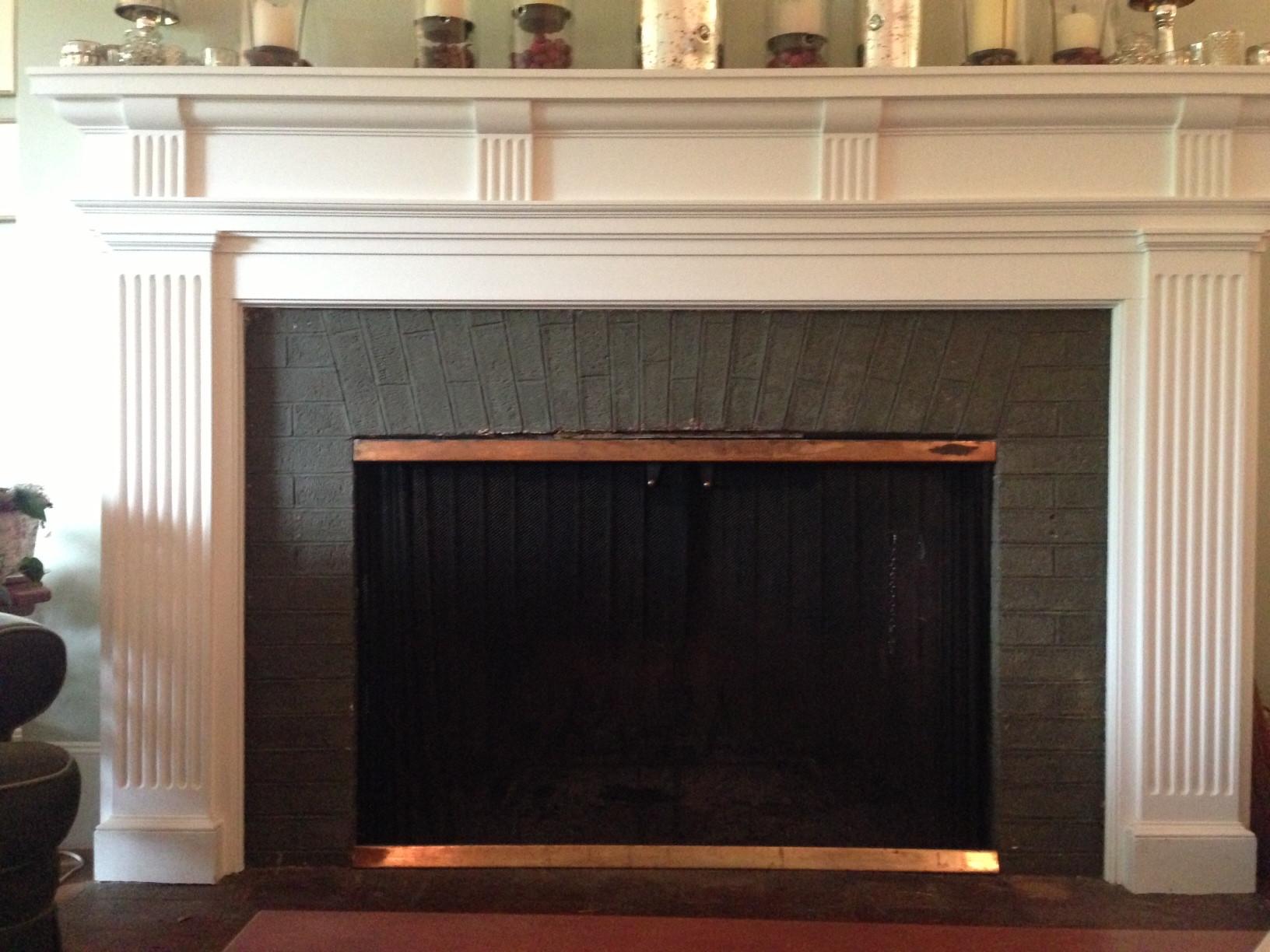 Ceramic Tile Fireplace